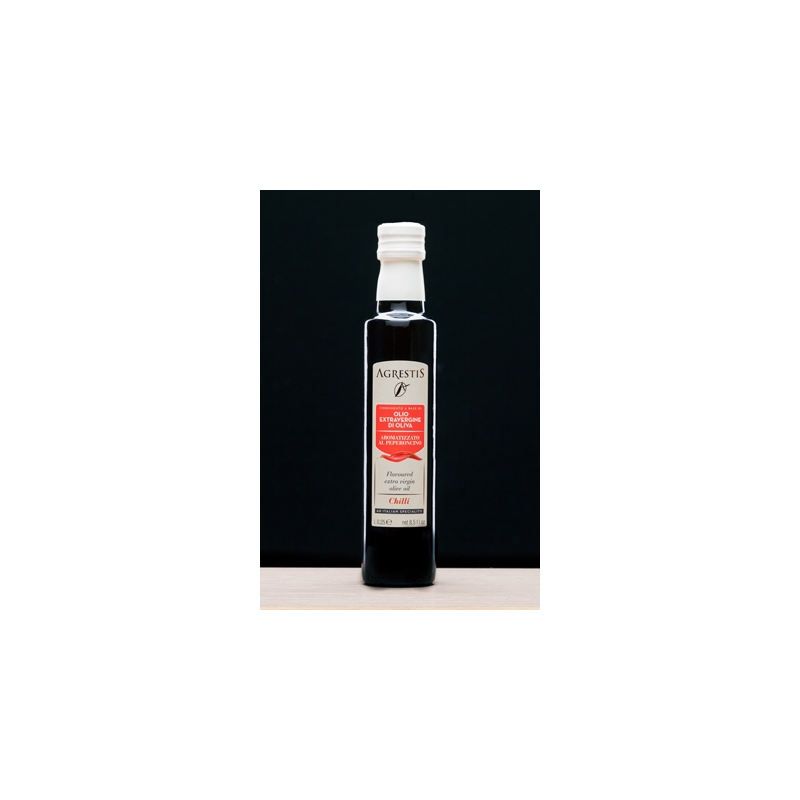 Extra virgin olive oil flavored with CHILI 250ml